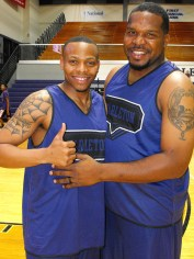 Texan Alumni Basketball game 26