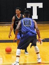 Texan Alumni Basketball game 35