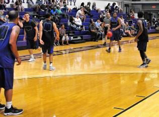 Texan Alumni Basketball game 43