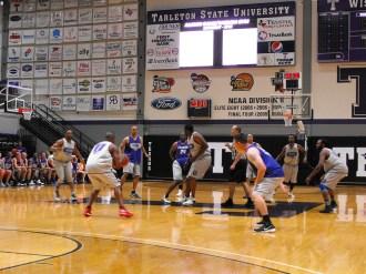 Texan Alumni Basketball game 45
