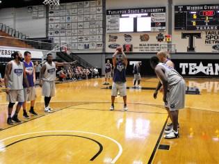 Texan Alumni Basketball game 48