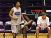 Texan Alumni Basketball game 51