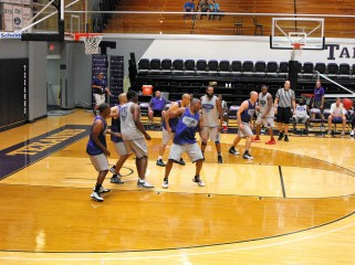 Texan Alumni Basketball game 55