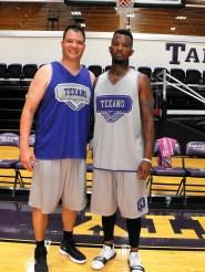 Texan Alumni Basketball game 66