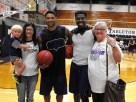 Texan Alumni Basketball game 70