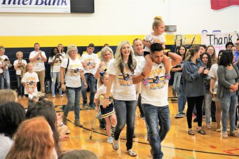 Heart of Gold Pep Rally _3024