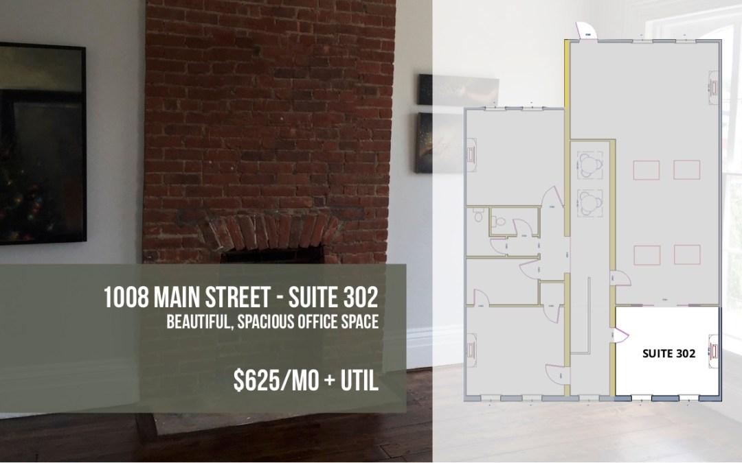 Sunny 3rd Floor Office in Downtown Peekskill – Suite 302
