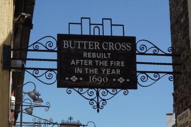Buttercross Sign