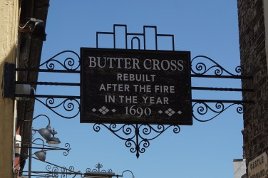 Buttercross Sign