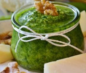 Pesto Homemade sauce recipes