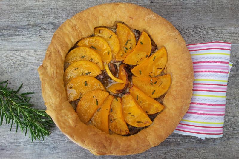 butternut mushroom and blue cheese pie 800
