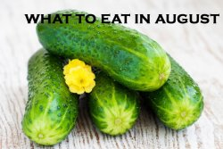 what to eat in august
