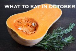 what to eat in october