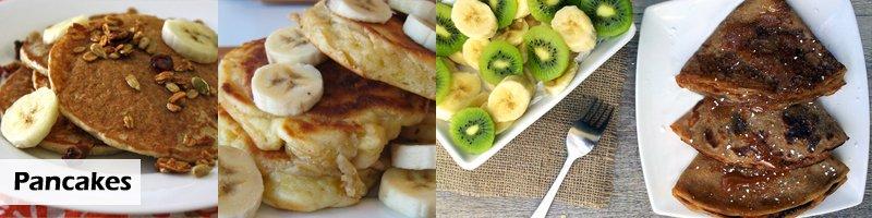 Banana Pancakes Vegan Recipes