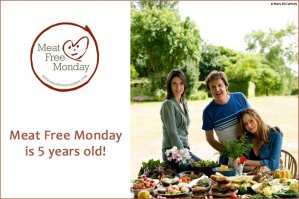 Meat Free Monday 5th birthday