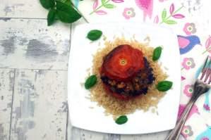 Quorn Stuffed Tomatoes [vegetarian]