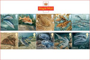 Royal Mail sustainable fish stamps