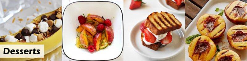 65 Recipes Barbecue Desserts