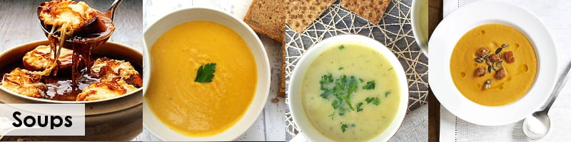 30 Meat Free Recipes For Bonfire Night - soups