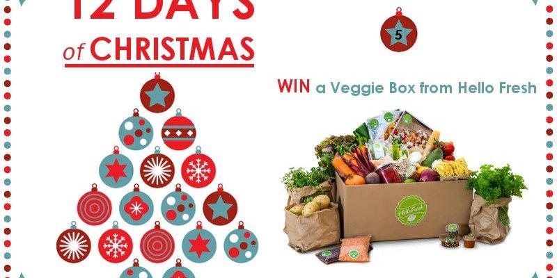 Win a Veggie Box from Hello Fresh