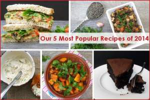 Our 5 Most Popular Recipes of 2014
