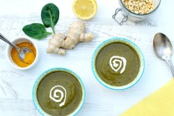 Spinach Soup [vegan] by The Flexitarian