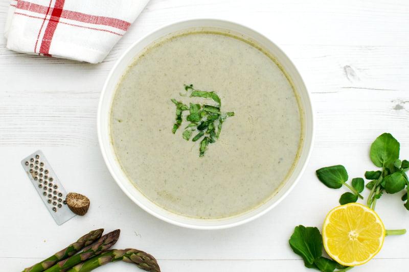 Spring Detox Soup [vegan] by The Flexitarian