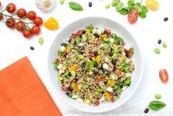 Quinoa Confetti Salad [vegan] by The Flexitarian