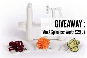 Spiralizer Giveaway