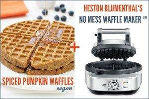 Heston Blumenthal's No Mess Waffle Maker ™