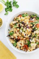 Roasted Cauliflower with Chermoula [vegan] [gluten free] by The Flexitarian