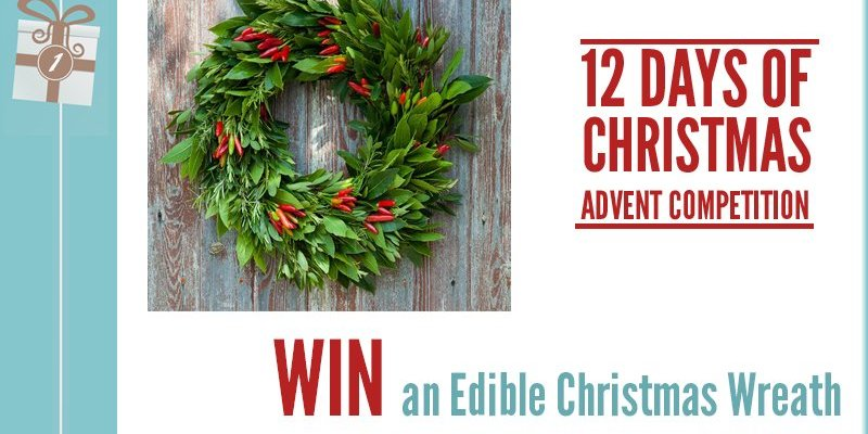 Advent Competition Day 1 - WIN An Edible Christmas Wreath