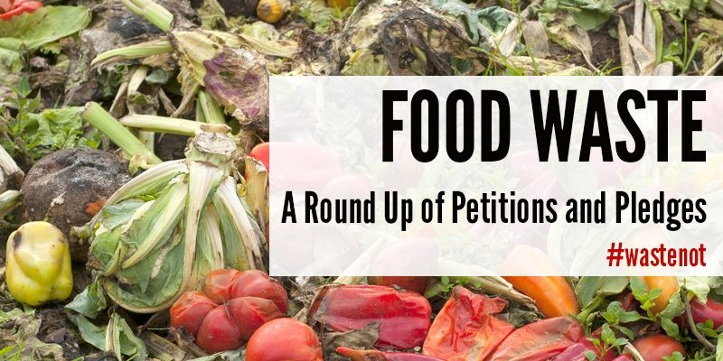 Food Waste A Round Up of Petitions and Pledges