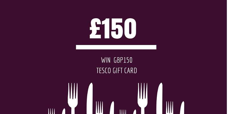 Win £150 Tesco Gift Card to Kickstart the New Year Diet