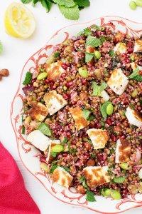 Quinoa & Mung Bean Salad [vegetarian] [gluten free] by The Flexitarian