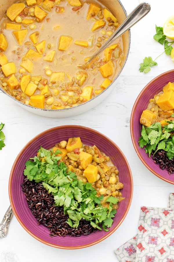 Sweet Potato & Lentil Curry [vegan] [gluten free] by The Flexitarian