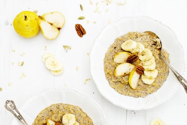 Sweet Miso Porridge [vegan] [gluten free] by the Flexitarian