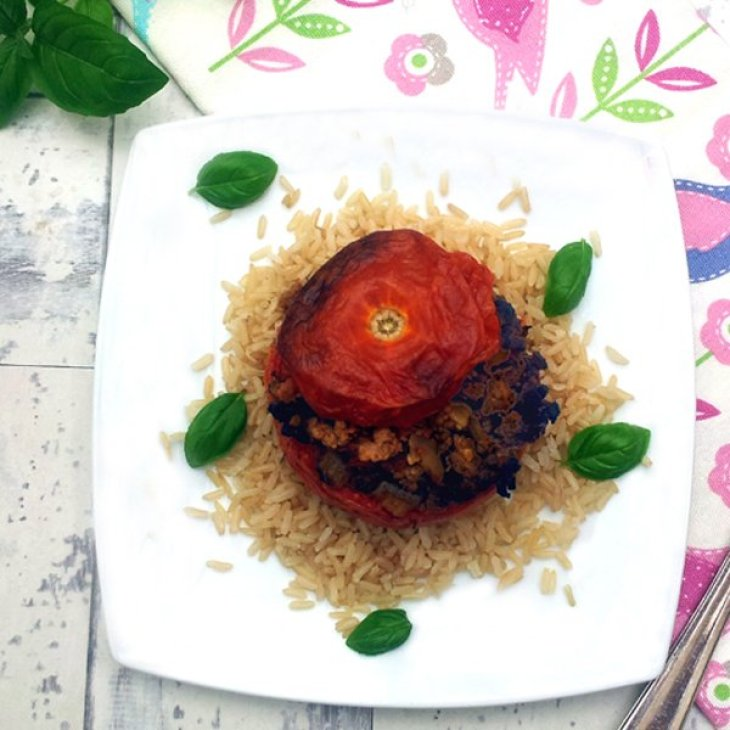 Quorn Stuffed Tomatoes [vegetarian] by The Flexitarian