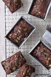 Chocolate & Date Rye Bread Loaves by Paul Hollywood [vegan]