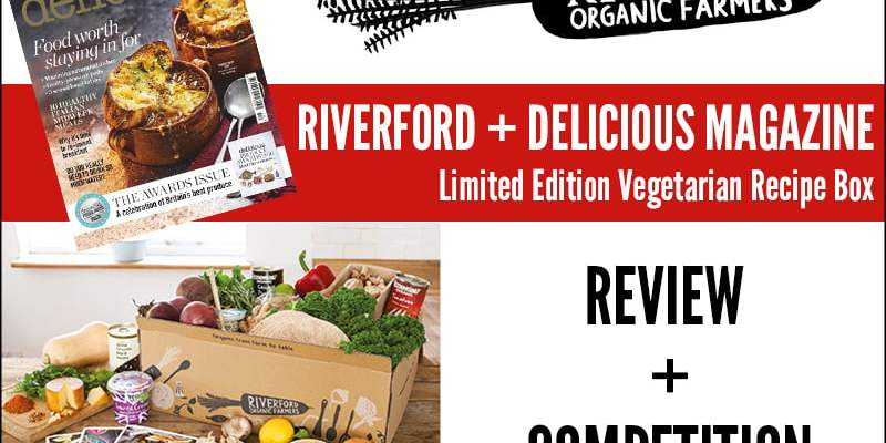 WIN A Vegetarian Recipe Box from Riverford