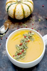 Silky Chinese Five Spice Pumpkin Soup [vegan] by The Flexitarian