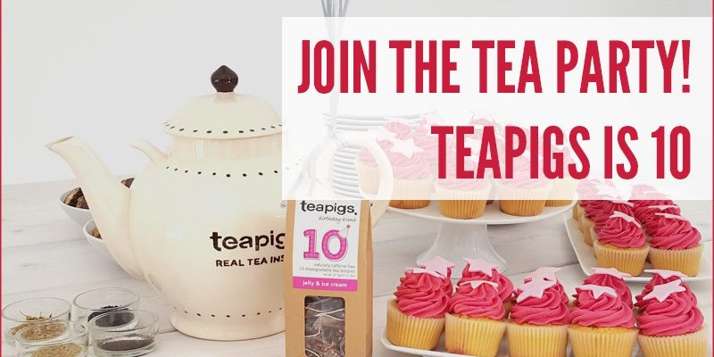 Join The Tea Party! Teapigs Is 10
