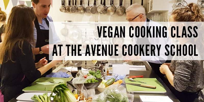Vegan Cooking Class at The Avenue