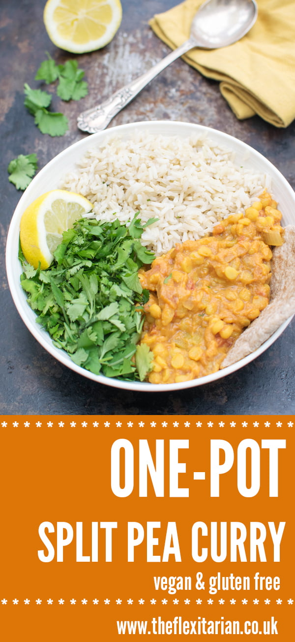 One-Pot Split Pea Curry [vegan] [gluten free] by The Flexitarian