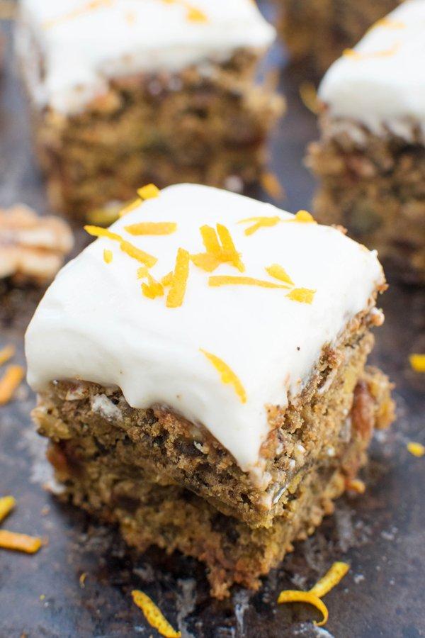 Organic Beetroot Cake with Coconut Orange Frosting [vegan]