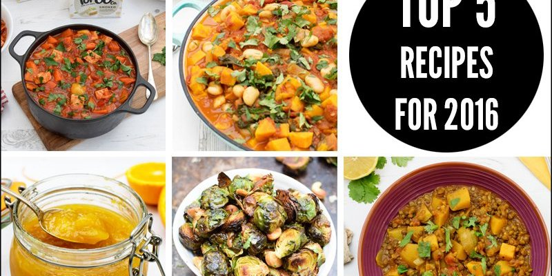 Top 5 Recipes 2016 by The Flexitarian