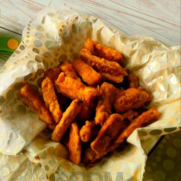 Bread Crust Pakoda [vegan] by Cooking Diva Manjusha