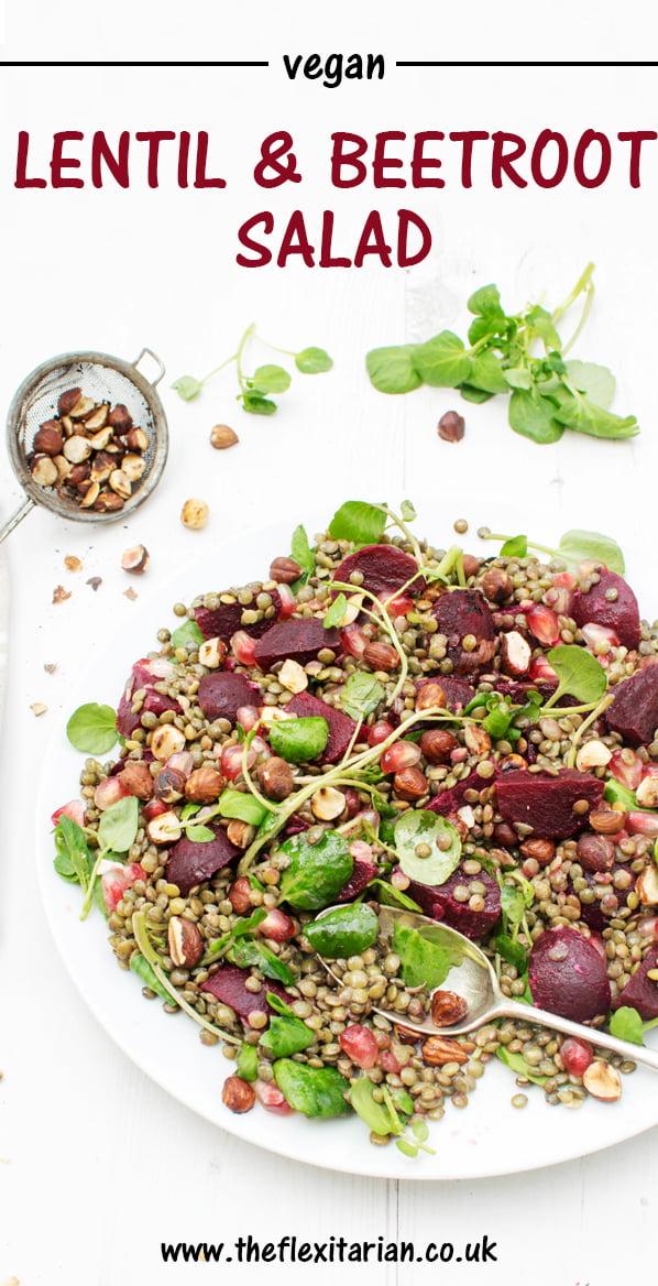 Lentil & Beetroot Salad [vegan] by The Flexitarian