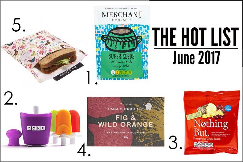 Hot List - June 2017