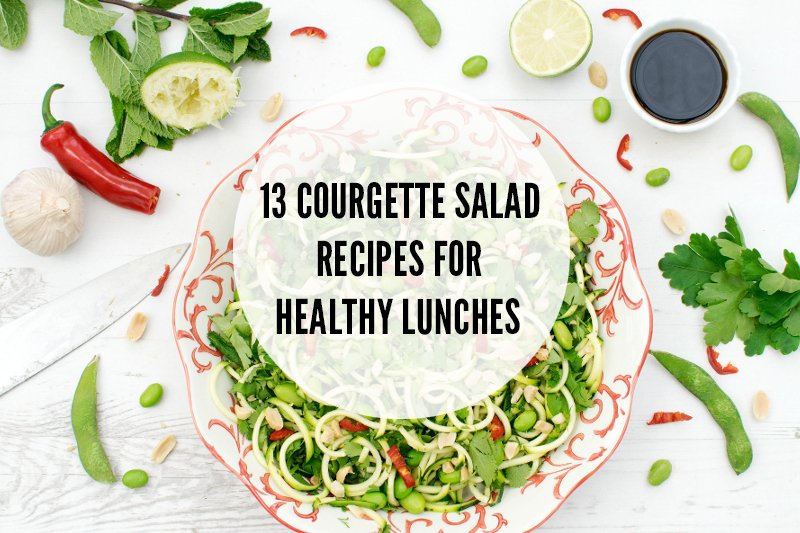 13 Courgette Salad Recipes For Healthy Lunches